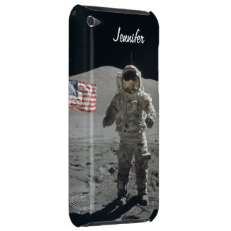 Moon walk astronaut space custom girls name iPod touch Case-Mate case