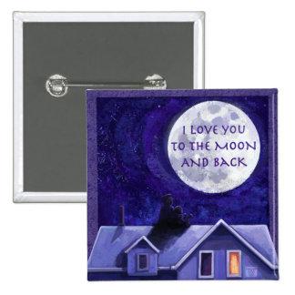 Moon Watch 15 Cm Square Badge