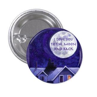 Moon Watch 3 Cm Round Badge