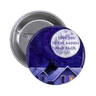 Moon Watch 6 Cm Round Badge