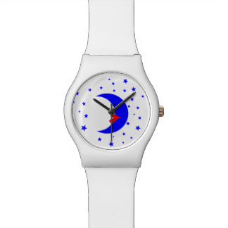 moon woman wristwatches