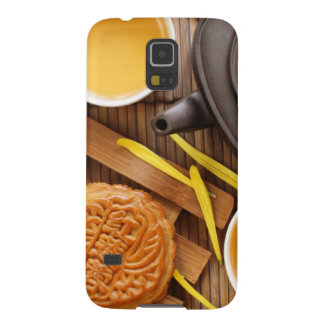Mooncake and tea,Chinese mid autumn festival 2 Galaxy S5 Case