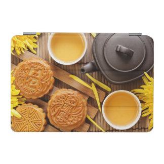 Mooncake and tea,Chinese mid autumn festival 2 iPad Mini Cover