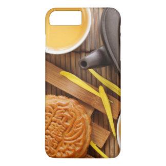 Mooncake and tea,Chinese mid autumn festival 2 iPhone 7 Plus Case