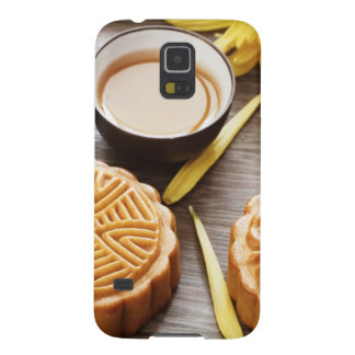 Mooncake and tea,Chinese mid autumn festival Galaxy S5 Cases