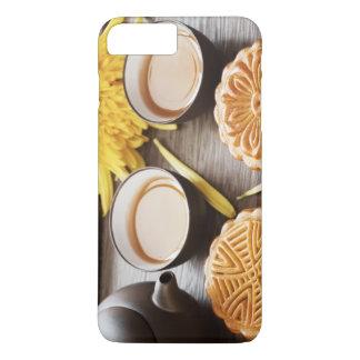 Mooncake and tea,Chinese mid autumn festival iPhone 7 Plus Case
