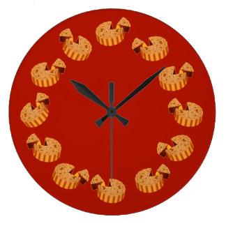 Mooncake Large Clock