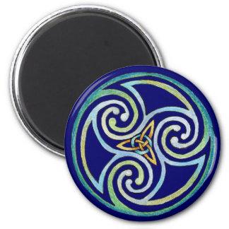 MoonDogs 6 Cm Round Magnet