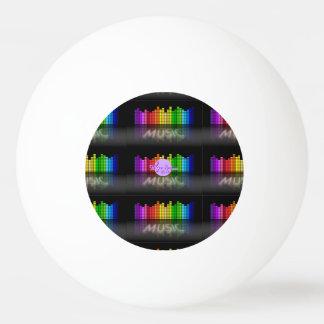 MoonDreams Music Equalizer 3-Star Ping Pong Ball
