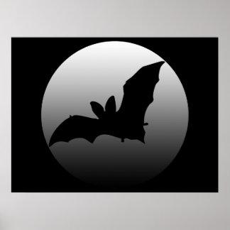 Mooned Bat Poster Print