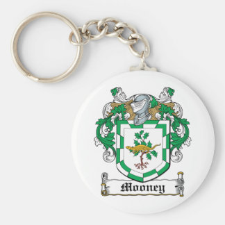 Mooney Family Crest Key Ring