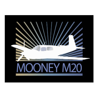 Mooney M20 Aviation Postcards