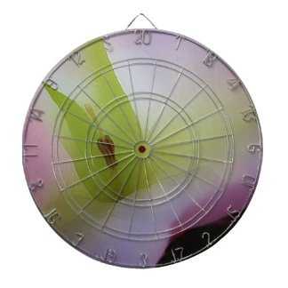 Moonflower Pink Dartboard With Darts