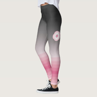 moonflower pink luna leggings