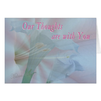 Moonflower Vision 2-customize any occasion Card