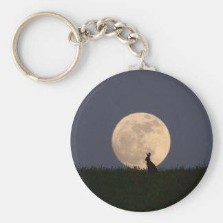 Moongazer Basic Round Button Key Ring