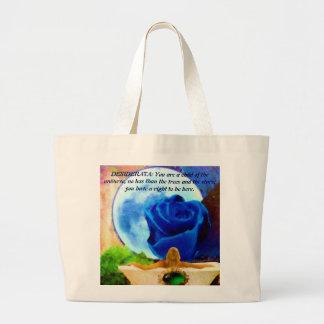 MoonGazer DESIDERATA Canvas Bags