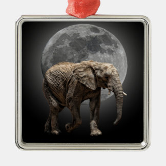 MOONGLOW ELEPHANT CHRISTMAS ORNAMENT