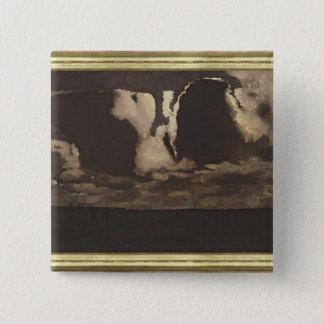 Moonlight, 1887 15 cm square badge