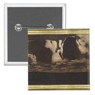 Moonlight, 1887 15 cm square badge