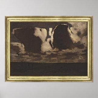 Moonlight, 1887 poster