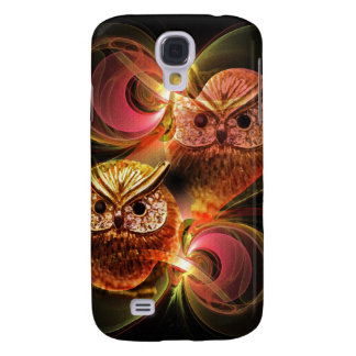 Moonlight and Owls, Artistic Galaxy S4 Case