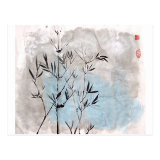 Moonlight Bamboo Postcard