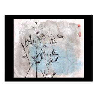 Moonlight Bamboo Postcard