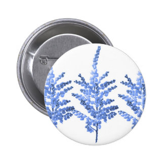 Moonlight Blue Lily Lillies 6 Cm Round Badge