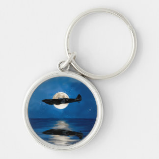 Moonlight flight keychain