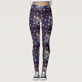 Moonlight floral leggings