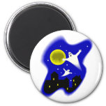 Moonlight Ghosts Magnets
