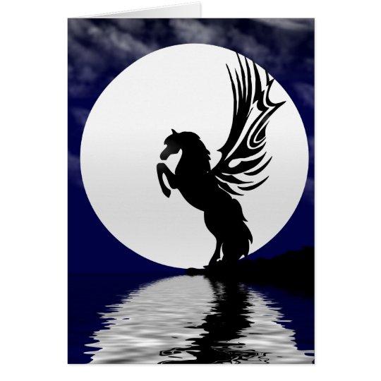 Moonlight Glow Greeting Card