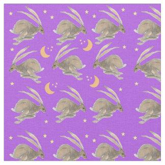Moonlight Hares Fabric