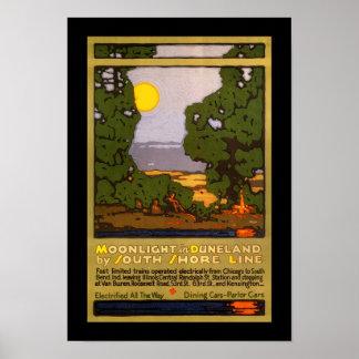 Moonlight in Duneland Poster