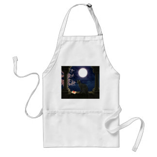 Moonlight Kitty Standard Apron
