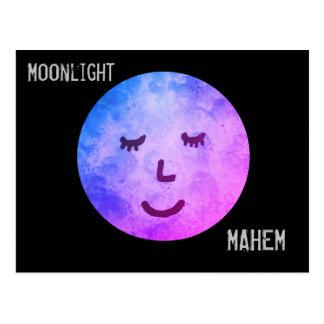 Moonlight Mahem Postcard
