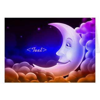 Moonlight Memories Moon Note Card