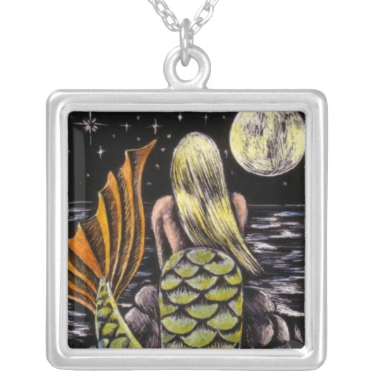 Moonlight Mermaid Necklace