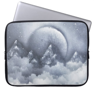 Moonlight Mountains Laptop Sleeve