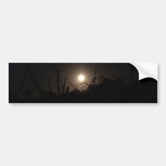 Moonlight on the Horizon Bumper Sticker