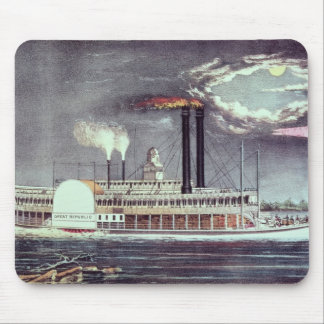 Moonlight on the Mississippi Mouse Mat