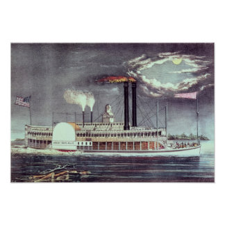 Moonlight on the Mississippi Poster