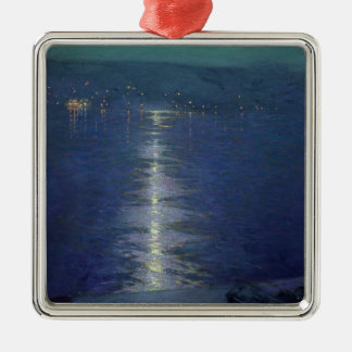 Moonlight on the River, 1919 Christmas Ornament