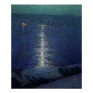 Moonlight on the River, 1919 Poster
