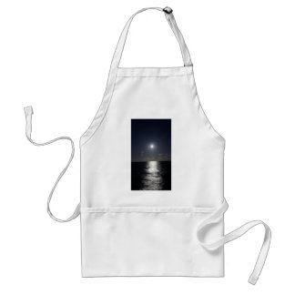 Moonlight over the Ocean Standard Apron