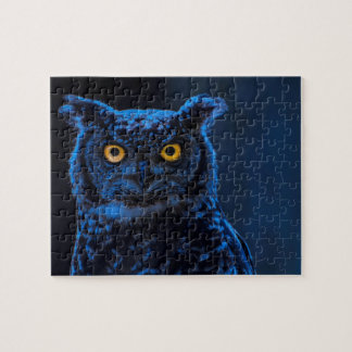 Moonlight Owl Jigsaw Puzzle