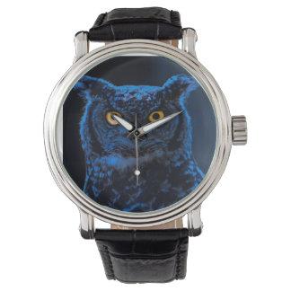 Moonlight Owl Watch