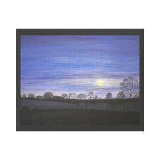 Moonlight Painting, canvas prints and posters