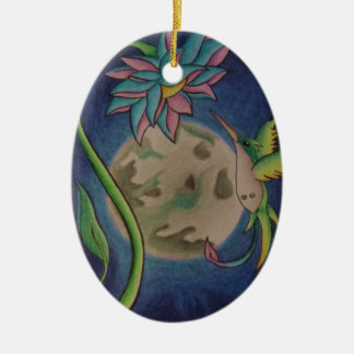 Moonlight Passion Christmas Ornament